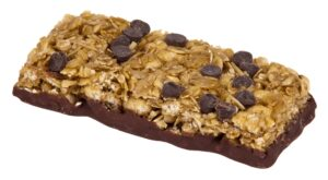 Granola bar with chocolate chips