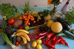 Fruits and vegetables to try
