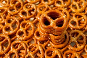 Loads of salty pretzels
