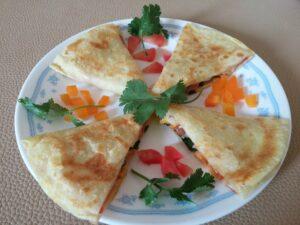 mini meal cheese quesadilla for kids